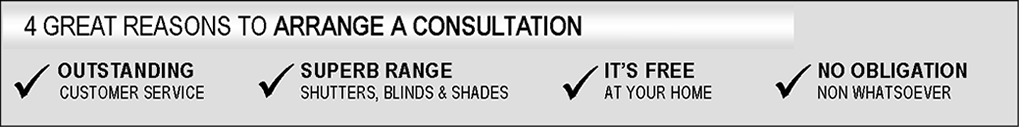 Reasons of Consultation - Blinds, Shutters, Shades, Florida