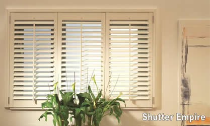 SHUTTER EMPIRE   Shutters, Custom, Blinds, Shades, Window Treatments,  Plantation,