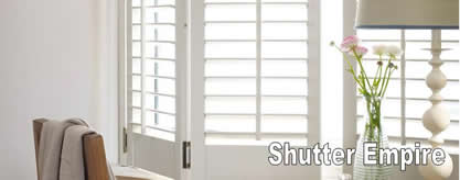 SHUTTER EMPIRE   Shutters, Custom, Blinds, Shades, Window Treatments,  Plantation,