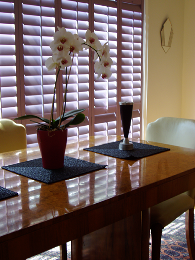 WOOD BLINDS  -  FREE Estimates & FREE In-Home Consulation - Blinds, Shutters, Window Blinds, Plantation Shutters, Vertical Blinds
