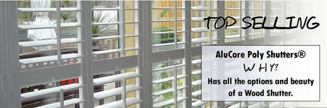 AluCore Poly Shutters from under $ 20.00